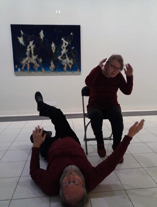 Karvamato innostaa Tuija ja Osmo Kaikuvuota tanssimaan